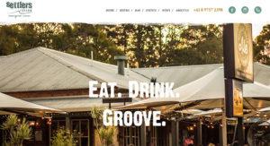Settlers Tavern, promoted by Margaret River Websites